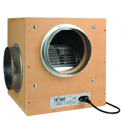 "6"" Acoustic Tornado Box Fan 1000mh3"