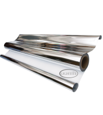 Silver White Sheeting 10mtr Roll