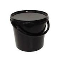 20Ltr Black Bucket and Lid